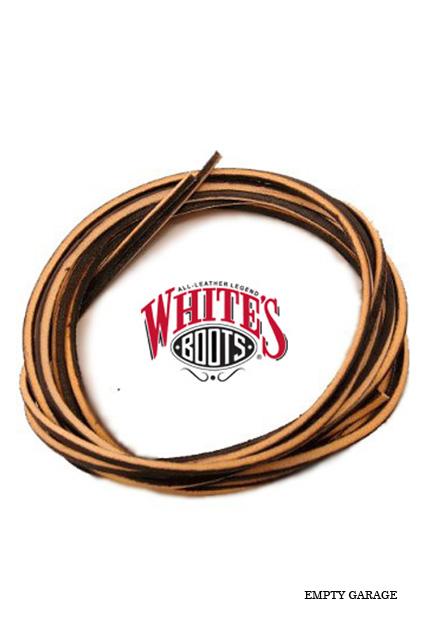 """WHITE'S BOOTS ホワイツブーツ レザーブーツレース 72"""" or 90"""" (靴紐)"""