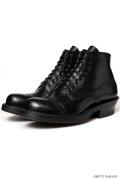 [�ۥ磻��] WHITE'S BOOTS SEMI DRESS Straight Tip Custom Black Calf [#700e Sole]
