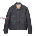 Stevenson Overall Co. Slinger Type ?? - 402 RIVET PLEATED WORK JACKET Original 12oz Selvage Denim