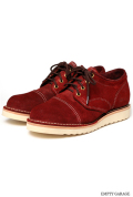 [ウエスコ] WESCO BOOTS J.H. Classics Burgundy Navy R/O Leather Cap Toe