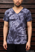 GRAB IN HOLLYWOOD V-NECK TEE CUT AND SEWN