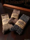 STEVENSON OVERALL CO. Linen Yarn Tube Socks - TS2