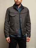 STEVENSON OVERALL CO. Deputy - DP4 COWBOY JACKET Heather Gray