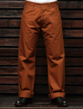 STEVENSON OVERALL CO. Visalia LOT. 380 Brown Selvage Canvas