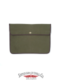 STEVENSON OVERALL CO. SUNSET CRAFTSMAN CO. Waxed Cotton Canoe Clutch Bag - SSC3