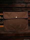STEVENSON OVERALL CO. x��SUNSET CRAFTSMAN CO. Waxed Cotton Clutch Bag - SSC3