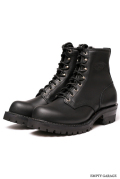 "�Υ��������� WESCO BOOTS PACKER BT 8""""ALL BLK���ƥå� Bubble Toe Last"