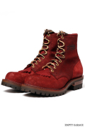 "[ウエスコ] WESCO BOOTS PACKER BUG 8""""ALL BLKステッチ Bubble Toe Last"