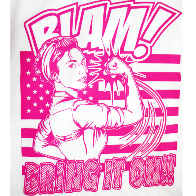 【MISSY MISTER】 BRING IT ON!! Tシャツ