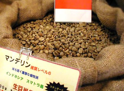 コーヒー豆 マンデリン