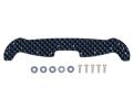 T95004 タミヤ HG ARシャーシ カーボン フロント ワイドステー(2mm青ラメ)