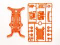 T95028 タミヤ AR蛍光カラーシャーシセット(オレンジ)
