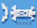 T95325 タミヤ MSシャーシ用 強化ギヤカバー(ホワイト)ミニ四駆ステーション