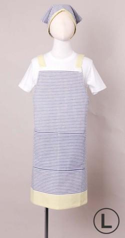 キッズエプロン(モニカ)L(三角巾付)