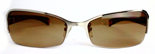 ES118-1(Frame:Gold/Lens:Brown)