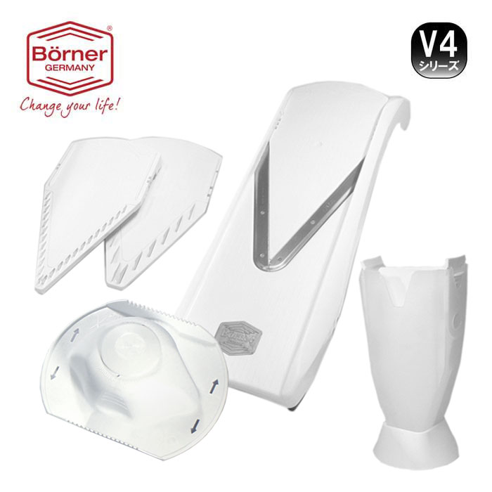 ベルナー BORNER V4 Vスライサー V4オリジナルセット【送料無料】【動画】【キャベツの千切り】