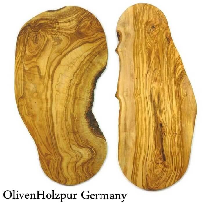 オリフェン・ホルツプア OlivenHolzpur オリーブの木まな板(50x20x2cm) 変形ナチュラル #BN50【送料無料】