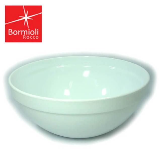 ボルミオリ・ロッコ BORMIOLI ROCCO サラダボウル20cm(白磁器のような強化ガラスボウル・スペイン製)【訳あり特価品】【z】