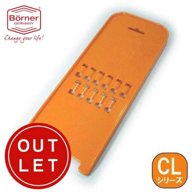【完売】ベルナー BORNER CL 2倍速往復しりしりスライサー(しりしり器) スイスレスティー オレンジ【動画】【Z】【アウトレット・訳あり特価品】