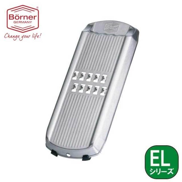 ベルナー BORNER EL 2倍速往復しりしりスライサー(しりしり器) スイスレスティー ステンレス