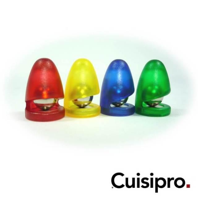 クイジプロ Cuisipro マグネットクリップ カラー4個セット
