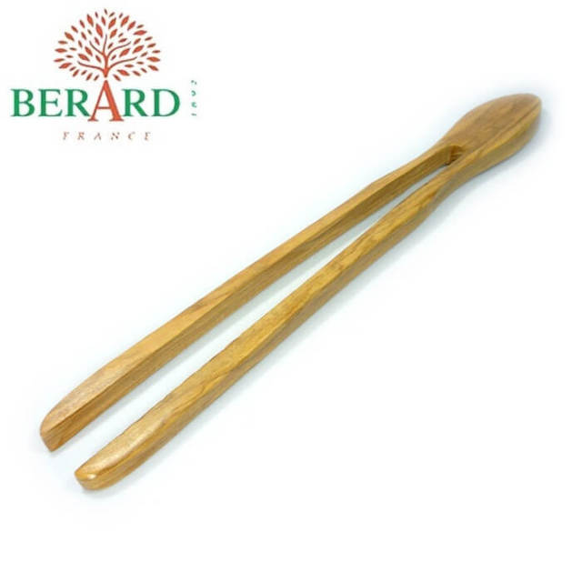 ベラール BERARD オリーブの木 菜箸トング(一体型)パン・トースト用#52177