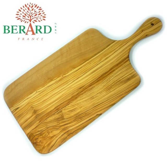 ベラール BERARD オリーブの木 カッティングボード(まな板)厚型 大 #54372【送料無料】
