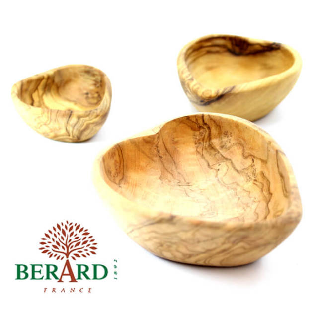 ベラール BERARD オリーブの木 ハート型 インサート 大中小3点セット スパイス小皿#89678(入れ子 インサート)