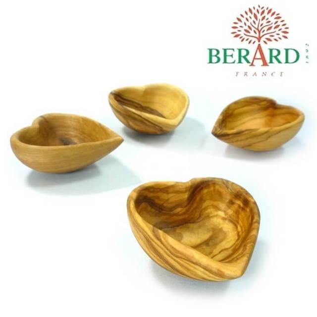 ベラール BERARD オリーブの木 ハート型スパイス小皿#89679