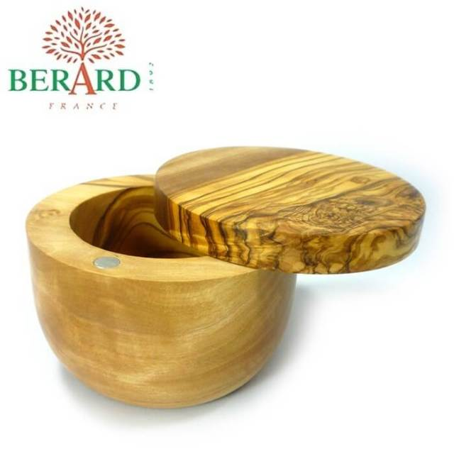 【完売】ベラール BERARD オリーブの木 ソルトキーパー(塩入れ容器)#90070【送料無料】