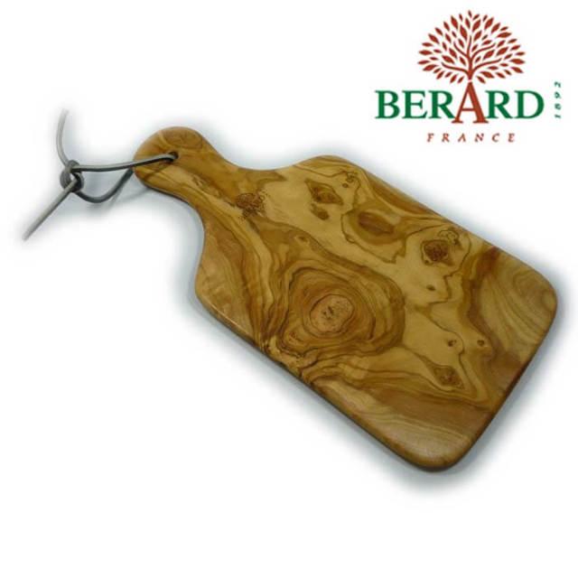 ベラール BERARD オリーブの木 小型一枚板カッティングボード(まな板) 大 #54072