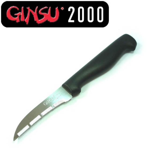 ギンス GINSU 良く切れる皮むきナイフ(果物ナイフ・キウイフルーツナイフ)【動画】