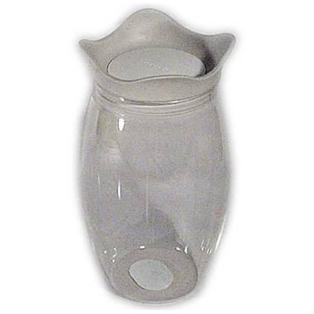 ジオスタイル GIOSTYLE ジャー(保存容器)1L 灰+白【イタリア製】【アウトレット・訳あり特価品】