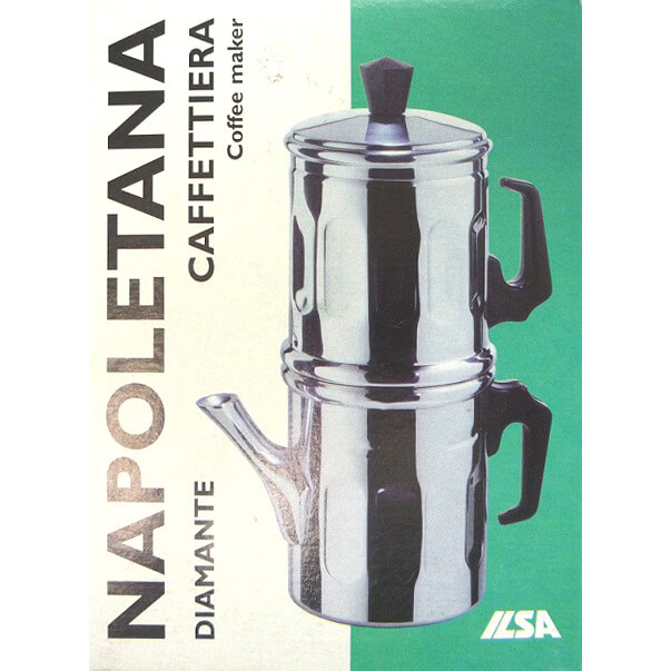 【完売】イルサ ILSA カフェ・ナポレターナ(イタリア製ナポリ式コーヒーメーカー)【アウトレット・訳あり特価品】
