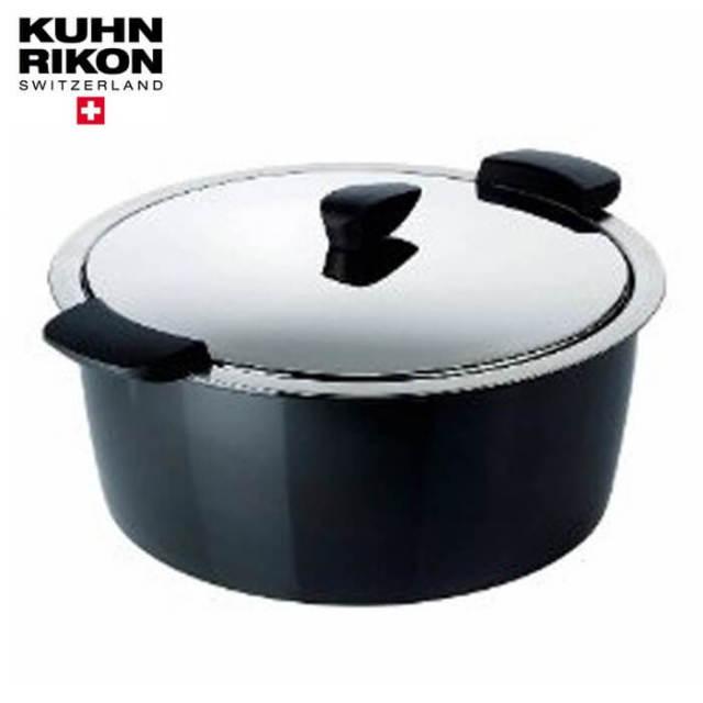 【完売】クーンリコンKUHNRIKON ホットパンHOTPAN保温調理鍋 26cm 4.5L 黒ブラック【送料無料】【動画】