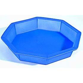 ルクエ LEKUE シリコン八角形ケーキモールド青【アウトレット・訳あり特価品】