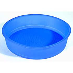 【完売】ルクエ LEKUE シリコン円形ケーキモールド直径24cm青【アウトレット・訳あり特価品】