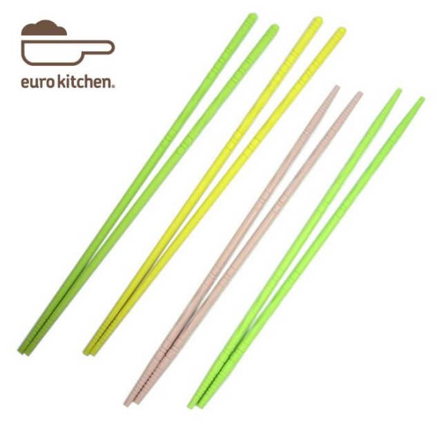 ユーロキッチン eurokitchen シリコン菜箸 (ロングタイプ)