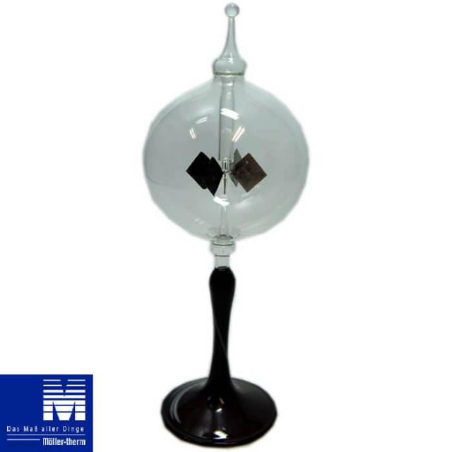 メラーサーモ 光車 ラジオメーター Radiometer スタンド1段スタンド柄付 #80401200【在庫限り・アウトレット訳あり特価品】【Z】