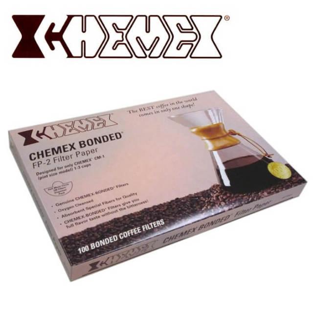 【完売】ケメックス CHEMEX コーヒーメーカー(小・3カップ)用 半月形フィルター #FP_2