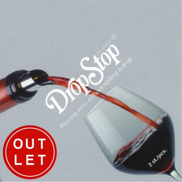 シュール Schur ドロップストップ DROP-STOP(ワインボトル口の液垂れ防止ツール)【動画】【アウトレット・訳あり特価】