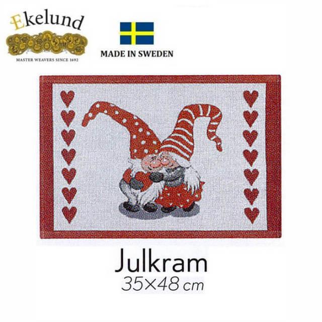 エーケルンド Ekelund JULKRAM (妖精) 35×48cm 【ランチョンマット/テーブルマット/北欧/オーガニックコットン】 #38341