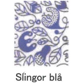 【完売】カティナット KATTINATT スポンジワイプ・キッチンワイプ(ディッシュクロス) つた(青)slingor bla