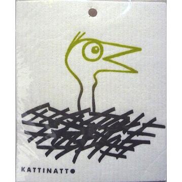 【完売】カティナット KATTINATT スポンジワイプ・キッチンワイプ(ディッシュクロス) 鳥の巣