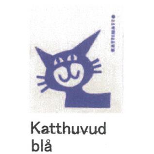 【完売】カティナット KATTINATT スポンジワイプ・キッチンワイプ(ディッシュクロス) 猫(青)katthuvud bla