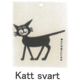 【完売】カティナット KATTINATT スポンジワイプ・キッチンワイプ(ディッシュクロス) 猫(黒)katt svart