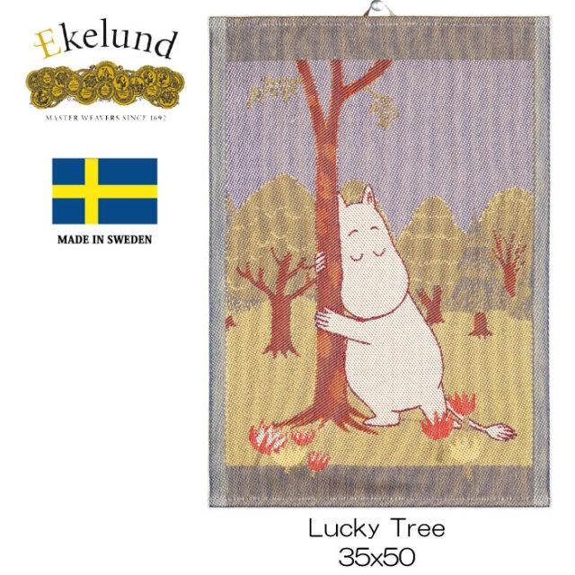 エーケルンド Ekelund ムーミンシリーズ Moomin Moomin LUCKY TREE (ムーミン) 35×50cm 【キッチンタオル/タペストリー】 #32226