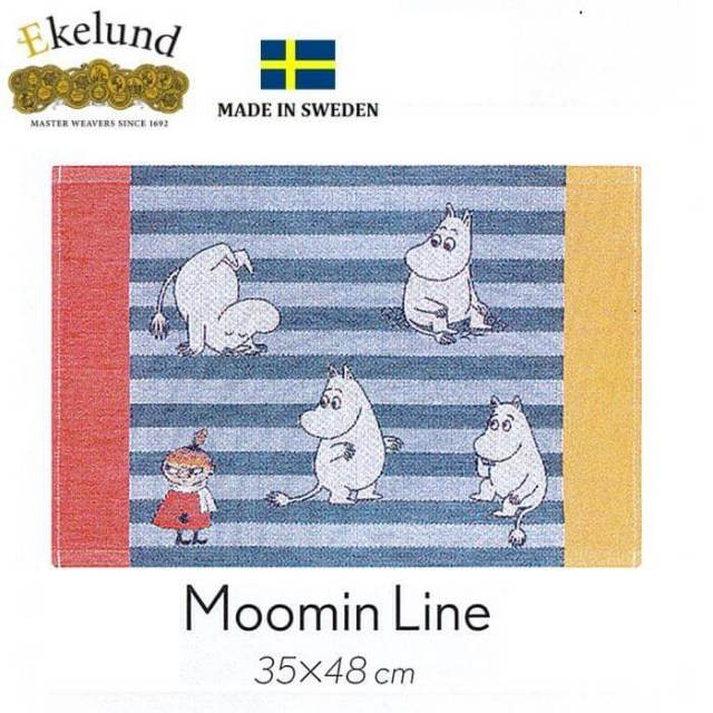 エーケルンド Ekelund ムーミンシリーズ Moomin MOOMIN LINE (ムーミン,リトルミィ) 35×48cm 【ランチョンマット】 #31915