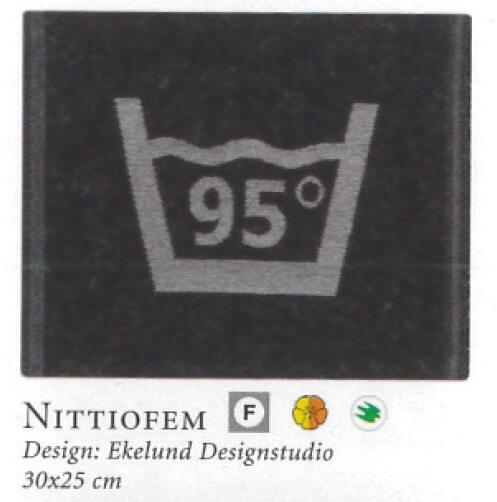 【廃番】エーケルンド Ekelund NITTIOFEM 耐熱95℃表記 30×25cm【★アウトレット品★】