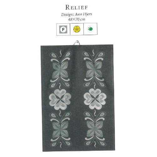 【廃番】エーケルンド Ekelund RELIEF 48×70cm【キッチンタオル/タペストリー】【★アウトレット品★】